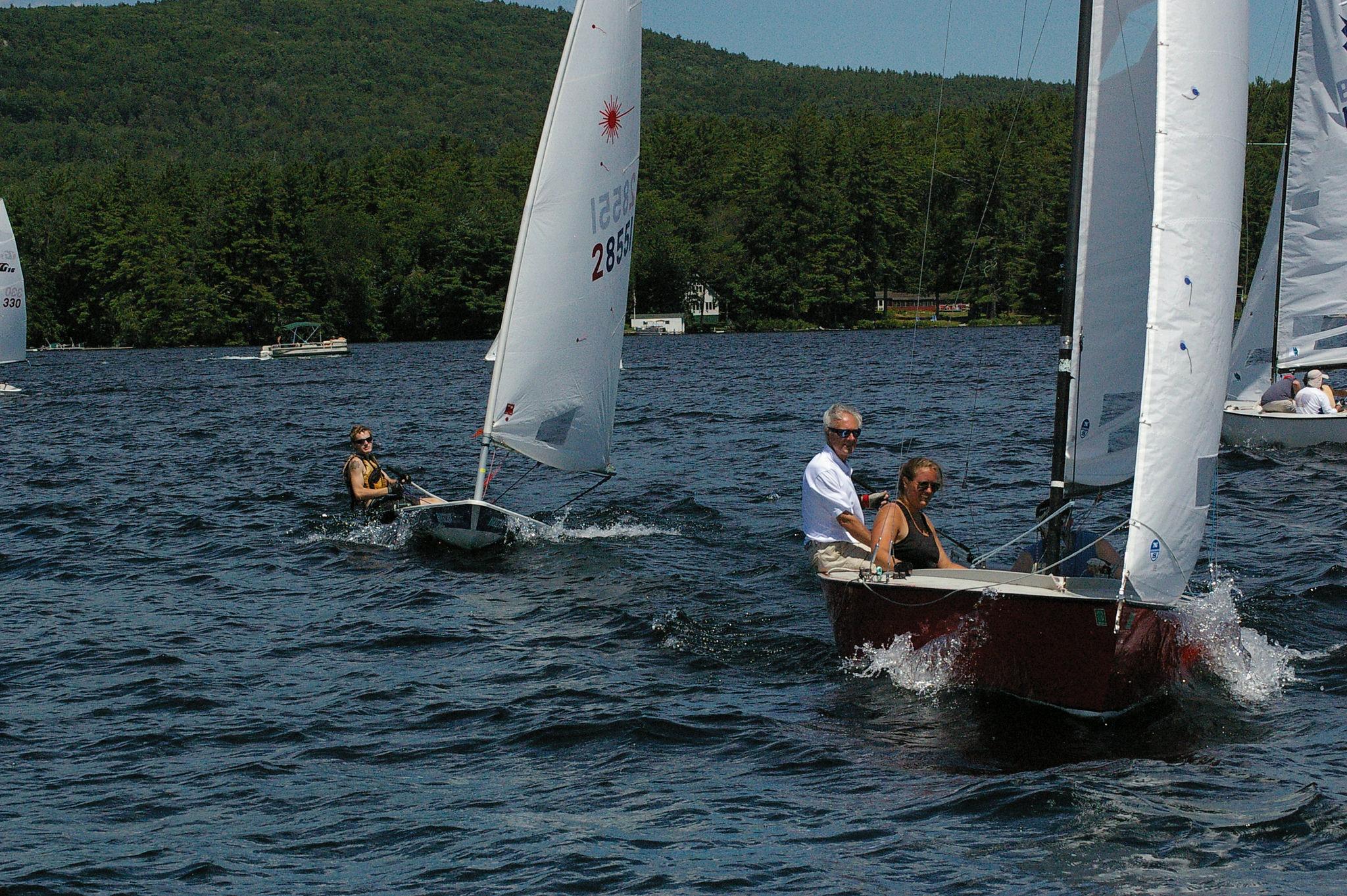 Bow Lake Sailing